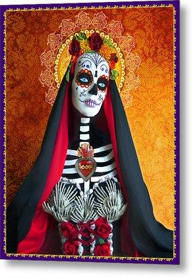 La Muerte Metal Print by Tammy Wetzel