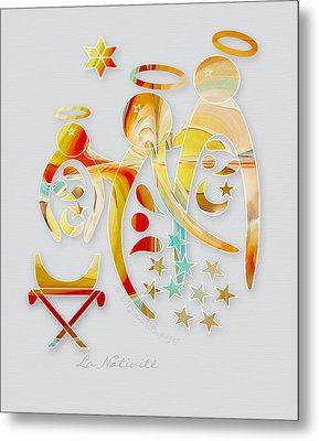 La Nativite Metal Print by Gayle Odsather