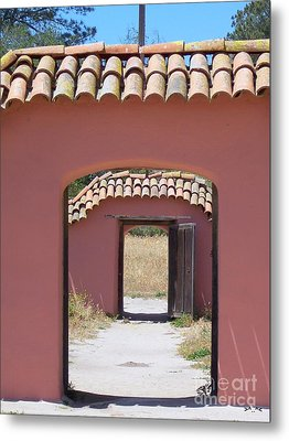 La Purisima Doorways Metal Print