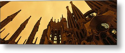 La Sagrada Familia Barcelona Spain Metal Print