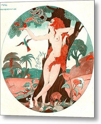 La Vie Parisienne 1920s France Cc Edam Metal Print