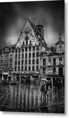 La Voix Du Nord Metal Print by Ian Good
