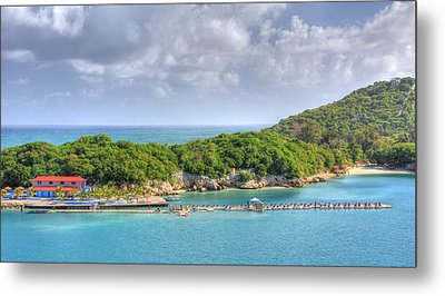Labadee Metal Print by Shelley Neff