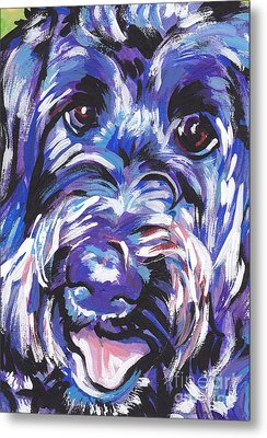 Labra Doodly Do Metal Print by Lea S