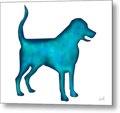 Metal Print featuring the painting Labrador Retriever by Laura Bell