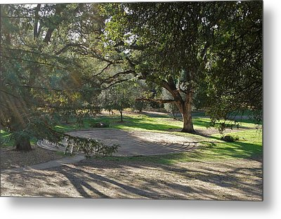 Labyrinth Retreat Metal Print by Michele Myers