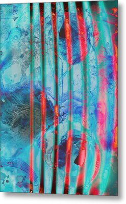 Lacerations Have Wounded  Metal Print by Empty Wall