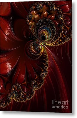 Lacquered  Metal Print by Heidi Smith