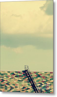 Ladder To Nowhere  Metal Print by Trish Mistric