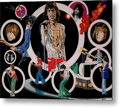 Ladies And Gentlemen -the Rolling Stones Metal Print by Sean Connolly