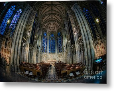 Lady Chapel At St Patrick's Catheral Metal Print by Jerry Fornarotto