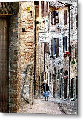 Lady In Urbino Metal Print