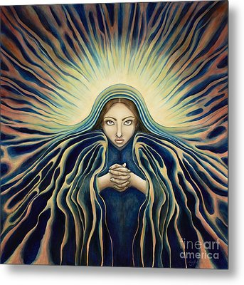 Lady Of Light Metal Print by Lyn Pacificar