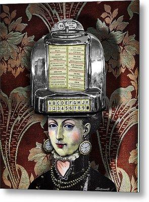 Lady Wurlitzer Metal Print by Larry Butterworth
