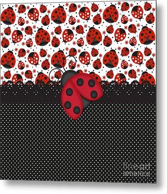 Ladybug Mood  Metal Print