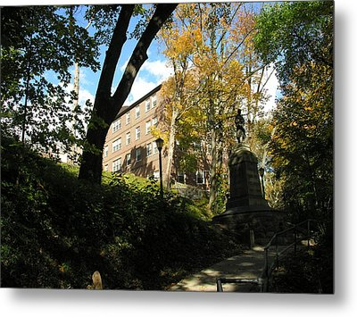 Lafayette College Easton - Town Meets Gown Metal Print by Jacqueline M Lewis