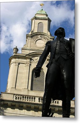 Lafayette College Easton Pa Metal Print by Jacqueline M Lewis