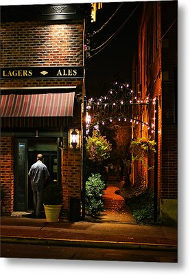 Lagers And Ales Metal Print by Laura Fasulo