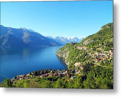 Lago Di Como Italy  Metal Print by Brooke T Ryan