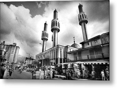 Lagos Central Mosque Metal Print