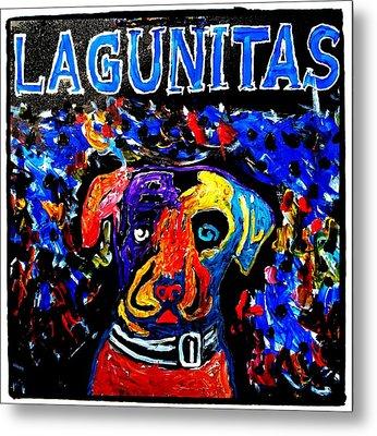 Lagunitas Dog Metal Print