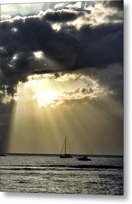 Lahaina Sunset 2 Metal Print by Dawn Eshelman