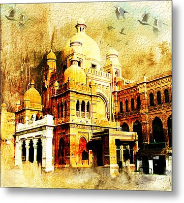 Lahore Museum Metal Print by Catf