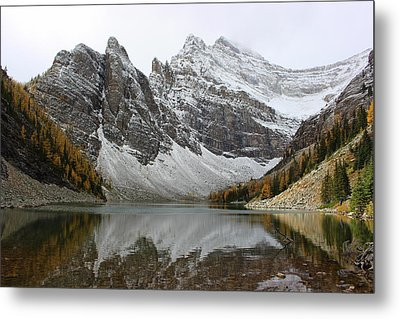 Metal Print featuring the photograph Lake Agnes by Ramona Johnston
