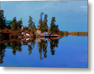 Lake Brereton Metal Print by Larry Trupp