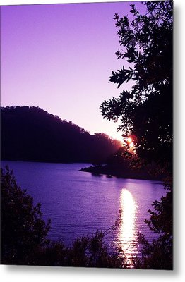 Lake Chabot On A Summer Eve Metal Print