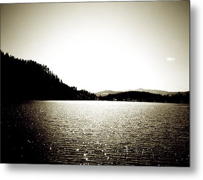 Lake Coeur D'alene Metal Print by Terry Eve Tanner