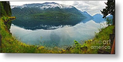 Lake Crescent - Washington - 03 Metal Print by Gregory Dyer