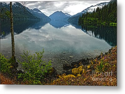 Lake Crescent - Washington - 04 Metal Print by Gregory Dyer