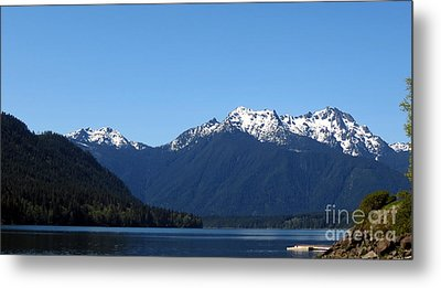 Lake Cushman - Olympic National Forest Metal Print