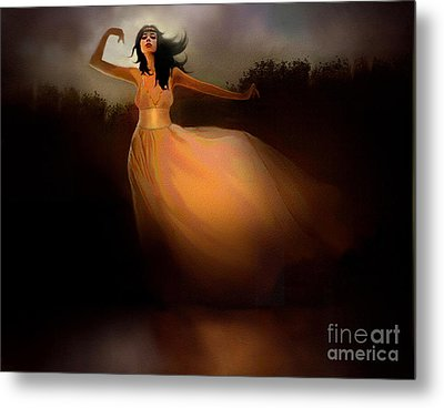 Lake Dancer Metal Print by Robert Foster