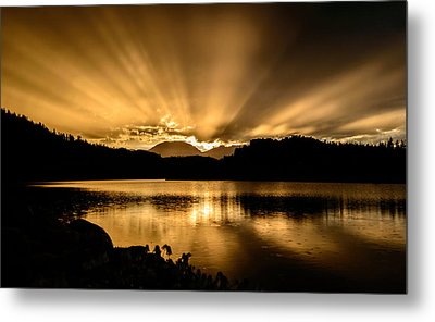 Lake Dillon Sunset Metal Print