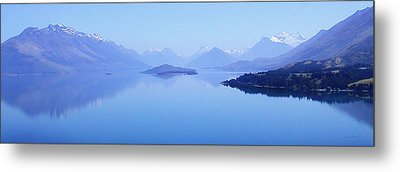 Lake Glenorchy New Zealand Metal Print by Ann Lauwers