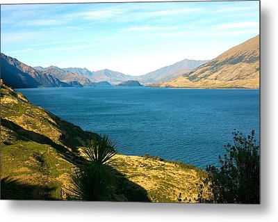 Metal Print featuring the photograph Lake Hawea by Stuart Litoff
