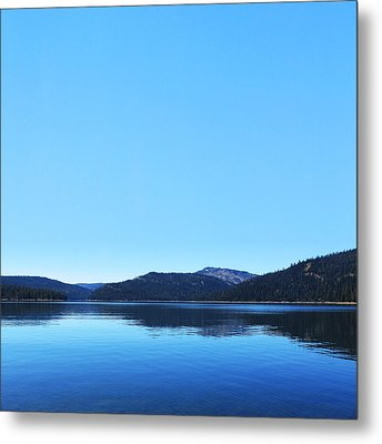 Lake In California Metal Print by Dean Drobot