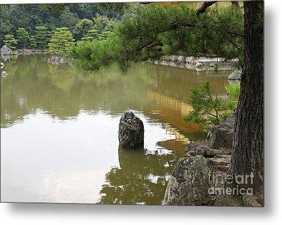 Lake In Japan Metal Print by Evgeny Pisarev