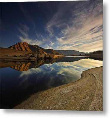 Metal Print featuring the photograph Lake Isabella  Mg_8082 by David Orias