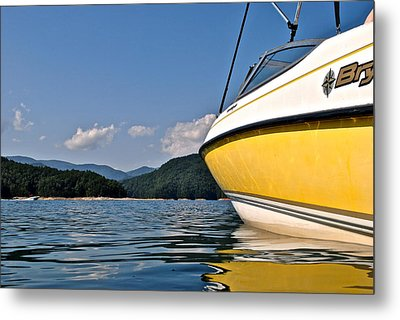 Lake Jocassee Metal Print by Frozen in Time Fine Art Photography