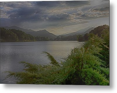 Metal Print featuring the photograph Lake Junaluska by Dennis Baswell