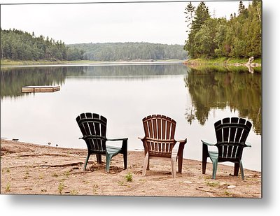 Metal Print featuring the photograph Lake Landscape by Marek Poplawski