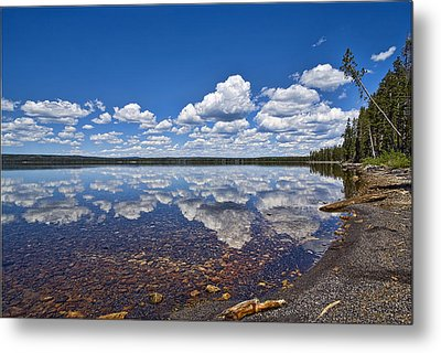 Lake Lewis Reflections Metal Print