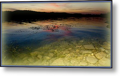 Lake Light Metal Print