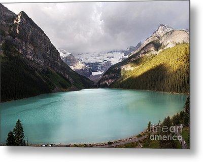 Lake Louise Panorama Metal Print by Yuri Santin
