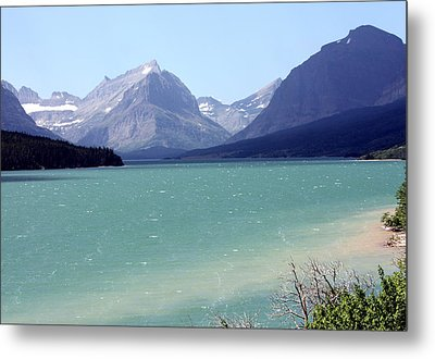 Lake Mcdonald Metal Print by Carolyn Ardolino
