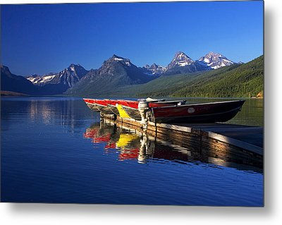 Lake Mcdonald Morning Metal Print