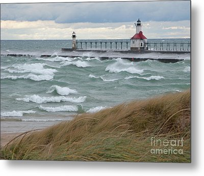 Lake Michigan Winds Metal Print